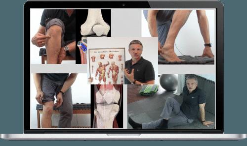 Selbsttherapien Bein Knie einfachgemacht