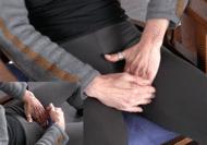 Selbsttherapie Rücken Hüftbeuger praktisch